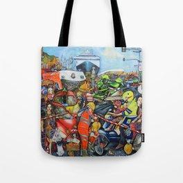 Il traffico di Palermo Tote Bag