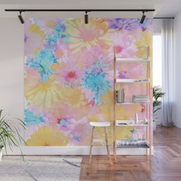 flower power Wall Mural