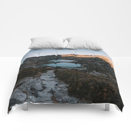 Mountain Ponds - Landscape and Nature Photography Comforters