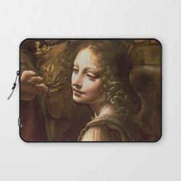 "Leonardo da Vinci ""The Virgin of the Rocks (London)"" Angel Laptop Sleeve"
