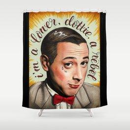 Loner Rebel Shower Curtain