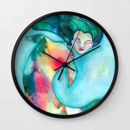 Mermaid V Wall Clock
