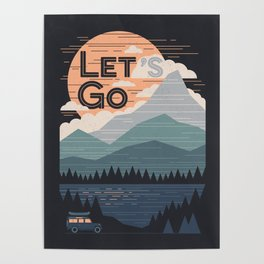 Let's Go Poster