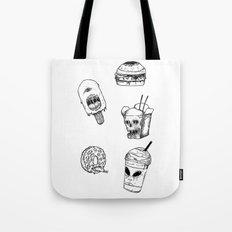 Monster Food Tote Bag