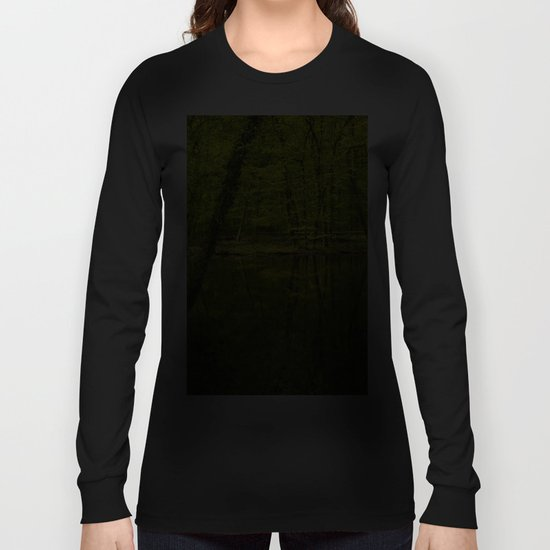 Forest lake pure relaxation for the Soul Long Sleeve T-shirt