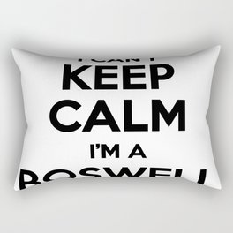 I cant keep calm I am a BOSWELL Rectangular Pillow