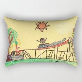Water Play Park Rectangular Pillow