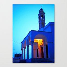 Pyrgos church Canvas Print