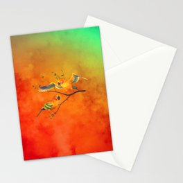 Parrots Sun Conures Stationery Cards