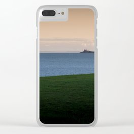Swansea Bay and Mumbles Clear iPhone Case