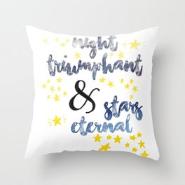 ACOTAR - Night Triumphant Throw Pillow