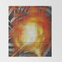 Explosion  Throw Blanket
