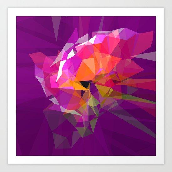 polygone attack Art Print