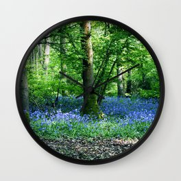 The Bluebell Dell Wall Clock