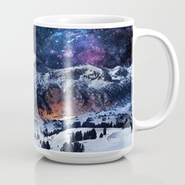 Mountain CALM IN space view Coffee Mug