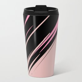 abstract / cut my love into pieces Metal Travel Mug