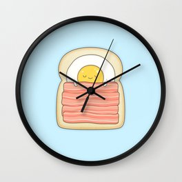 bed and breakfast Wall Clock