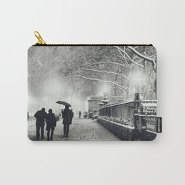 New York City Snow Bryant Park Carry-All Pouch