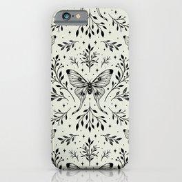 Mystical Luna Moth iPhone Case