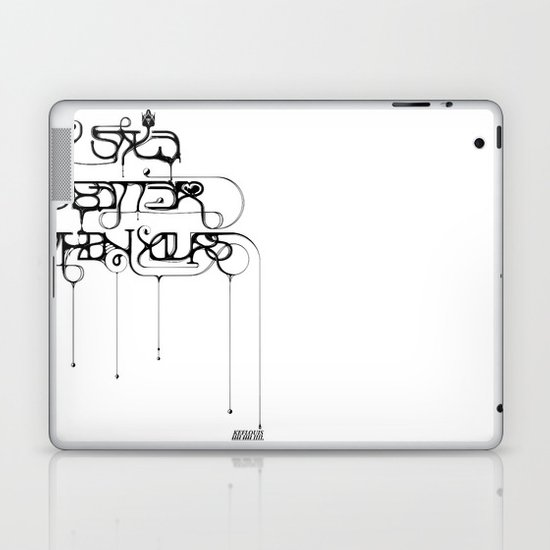 My style is better than yours. Laptop & iPad Skin
