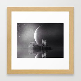 Arlyn and E.L. Framed Art Print