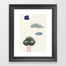 cloudies Framed Art Print