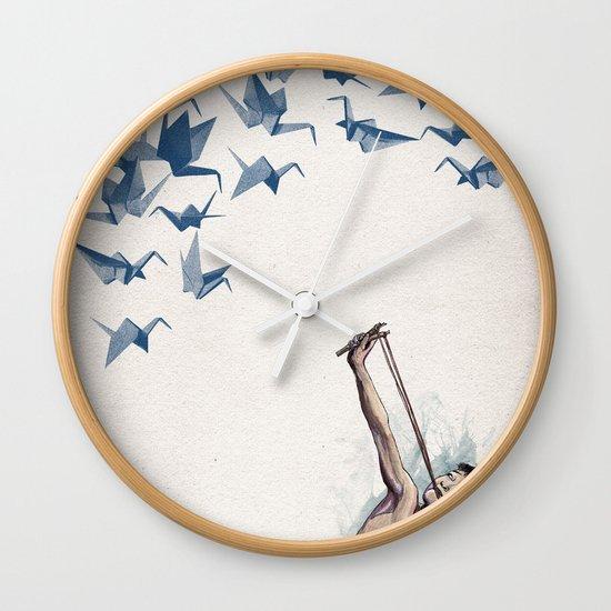 Lucky Shot Wall Clock