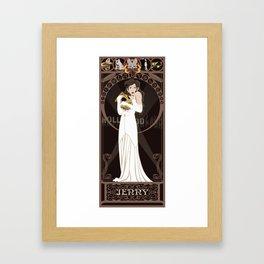 Jenny Nouveau - The Rocketeer Framed Art Print