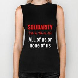 Solidarity Biker Tank
