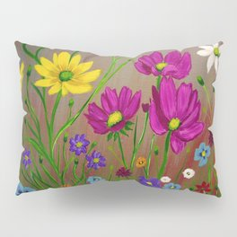 Spring Wild flowers  Pillow Sham