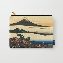 """Hokusai (1760–1849) """"Dawn at Isawa in Kai Province"""" Carry-All Pouch"""