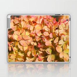 Cream and Pink Hydrangeas Laptop & iPad Skin