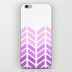 OMBRE LACE CHEVRON 2 iPhone & iPod Skin