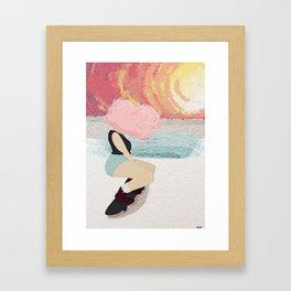 Sk8r Gurl Framed Art Print
