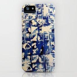 Ancient Ocean iPhone Case