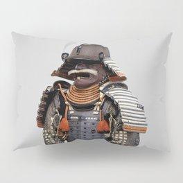 Historical Samurai Armor Photograph (18th Century) Pillow Sham
