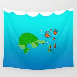 Sea Buddies Wall Tapestry