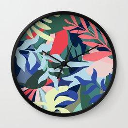 Botanical Balance Wall Clock