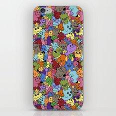 Doodle Mix 1 iPhone & iPod Skin