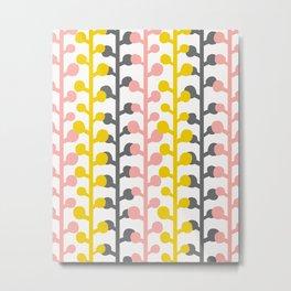 Sprig - Pink Lemonade Metal Print