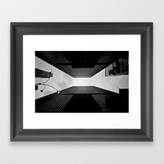 NYC can be dizzying sometimes Framed Art Print