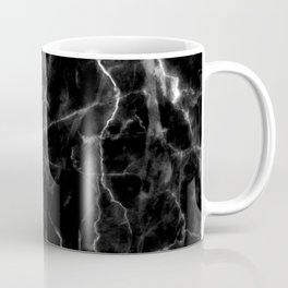 Black marble texture Coffee Mug