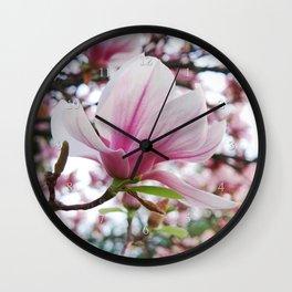 magnolia jubilee Wall Clock