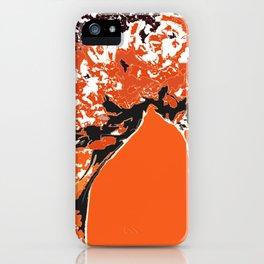 orange ...  iPhone Case