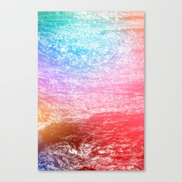 There's Magic in the Ocean Canvas Print