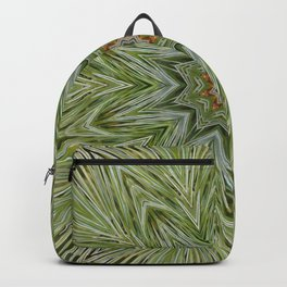 White pine kaleidoscope/mandala II Backpack