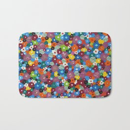 Bed of Flowers Bath Mat