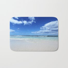 Isla Saona Caribbean Beach Bath Mat