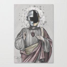 Daft Punk Savior  Canvas Print