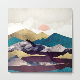 Wine Lake Metal Print